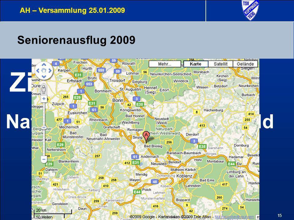 16 Seniorenausflug 2009 AH – Versammlung 25.01.2009