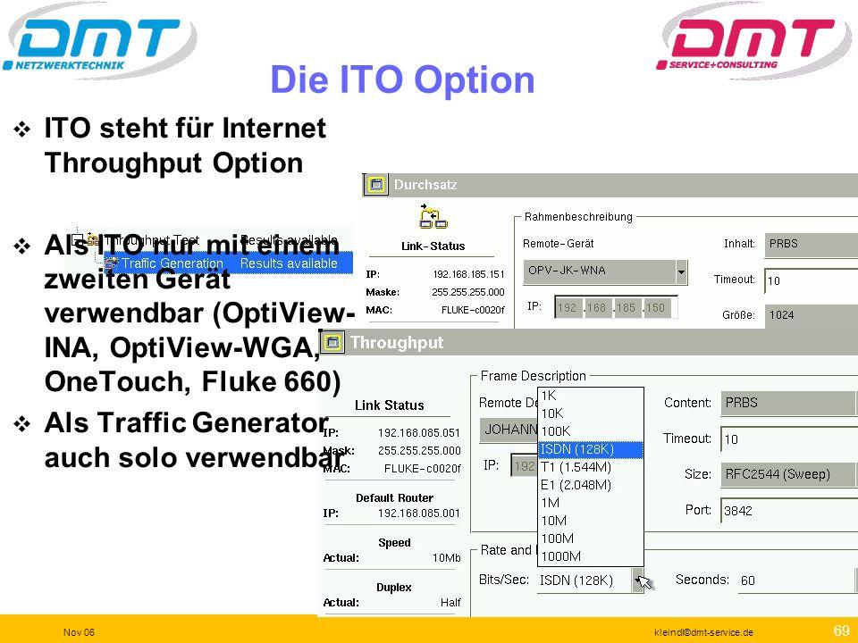 68 Nov 06kleindl©dmt-service.de Werkzeuge