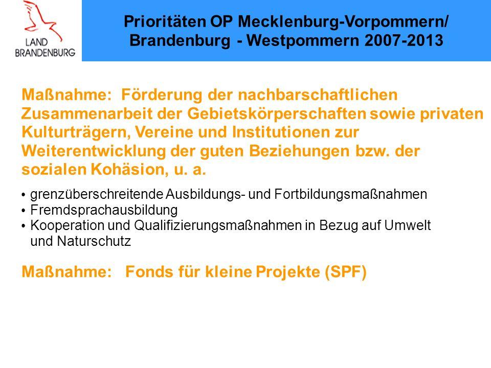Maßnahme: Förderung der nachbarschaftlichen Zusammenarbeit der Gebietskörperschaften sowie privaten Kulturträgern, Vereine und Institutionen zur Weiterentwicklung der guten Beziehungen bzw.