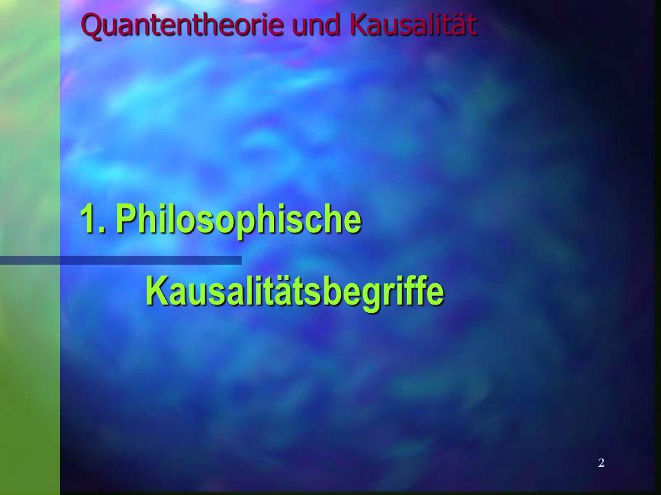 13 Quantenoptik Experimente mit einzelnen Photonen & Atomen n Doppelspalt-Experiment n Propagation als Welle, Detektion von Teilchen n Welle-Teilchen-Dualismus in einem Experiment.