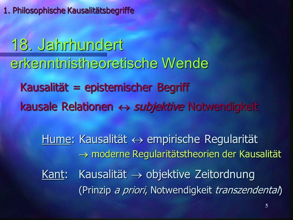 26 Komplementarität & Kausalität n Bohr: rationale Verallgemeinerung der klass.