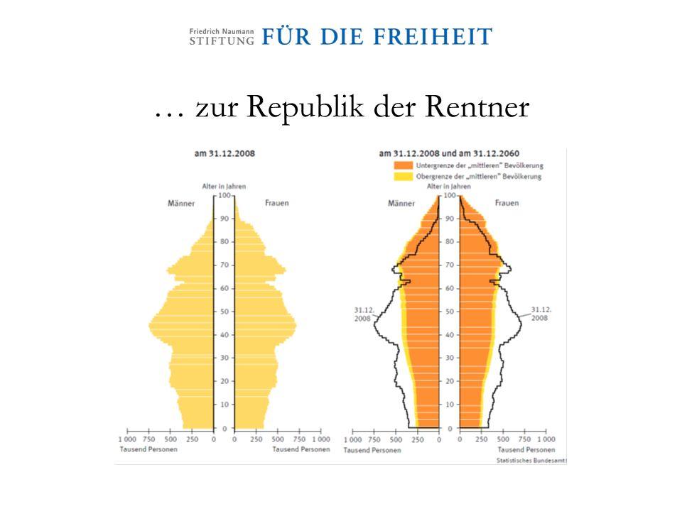 … zur Republik der Rentner