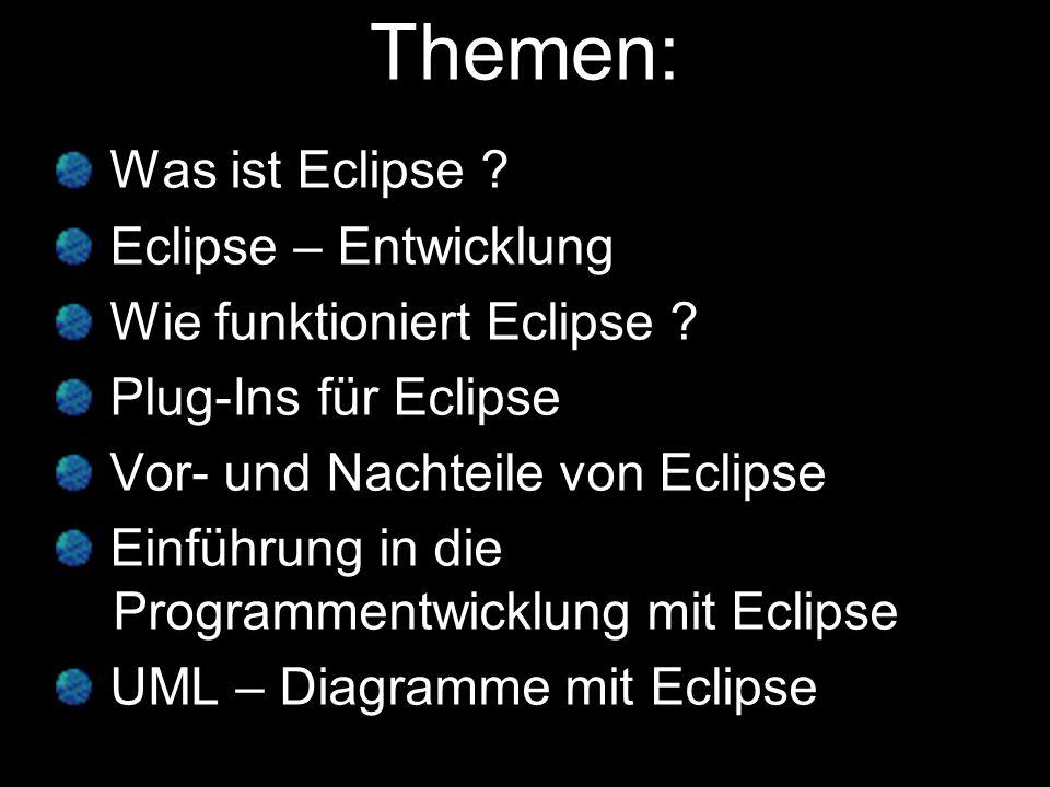 Was ist Eclipse .