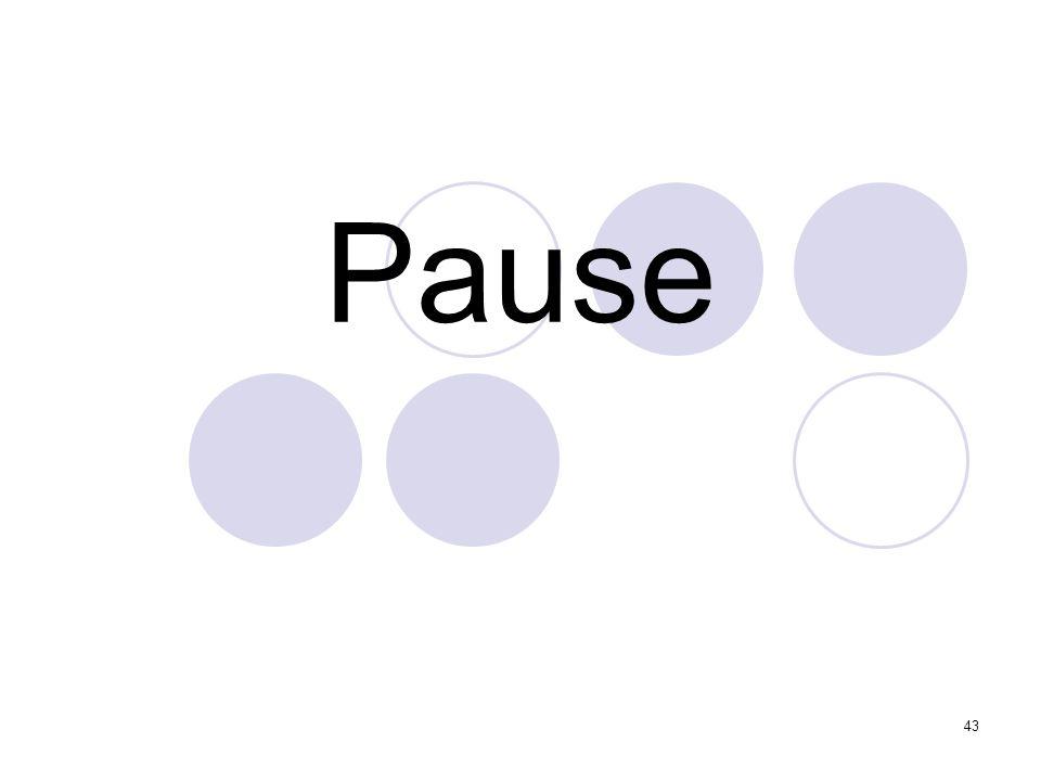 43 Pause