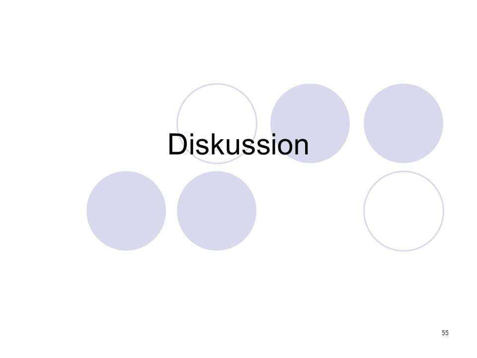 55 Diskussion