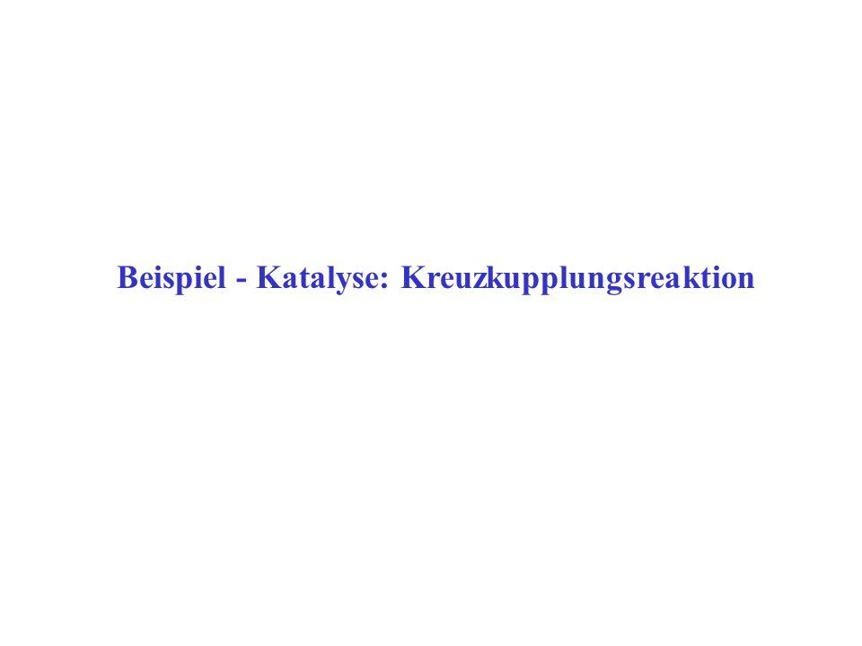 Beispiel - Katalyse: Kreuzkupplungsreaktion