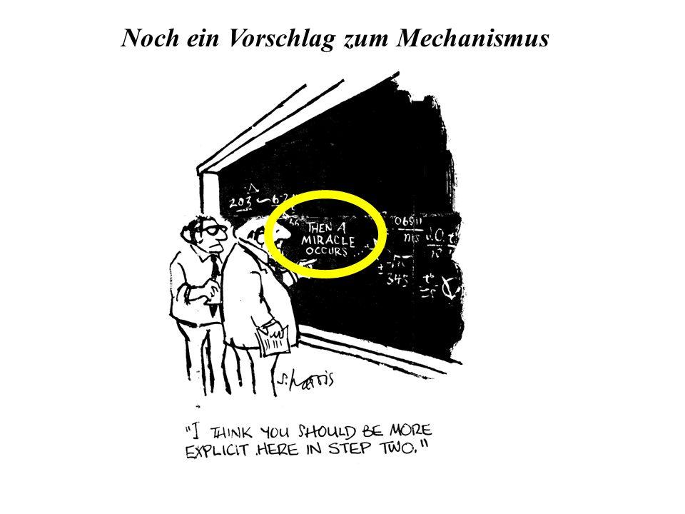 Noch ein Vorschlag zum Mechanismus