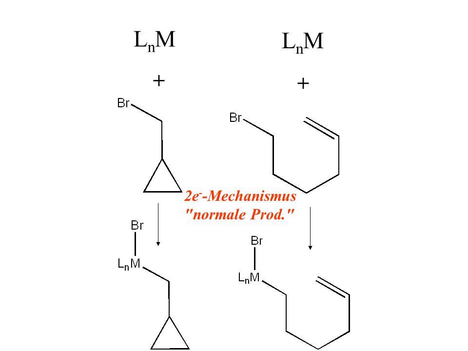 LnMLnM LnMLnM + + 2e - -Mechanismus