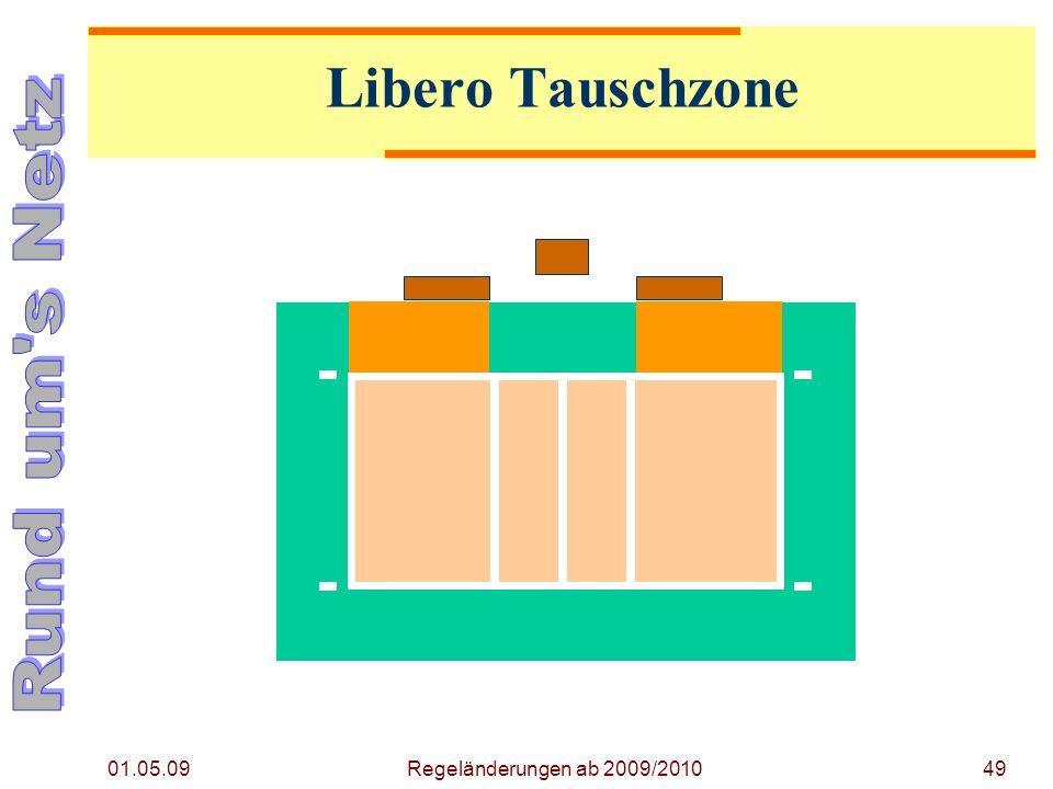 49 Libero Tauschzone 01.05.09 Regeländerungen ab 2009/2010