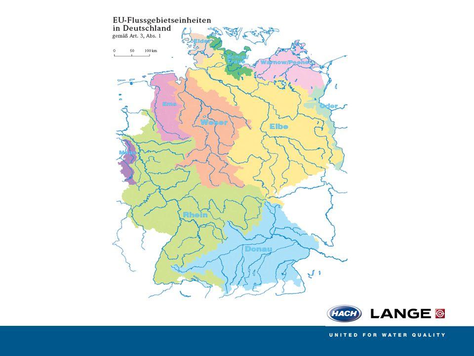 Prioritätenprogramm zur Phosphat-Reduktion Für Stickstoff existiert Momentan nur ein Karte Für die Stickstoffreduktion im Grundwasser