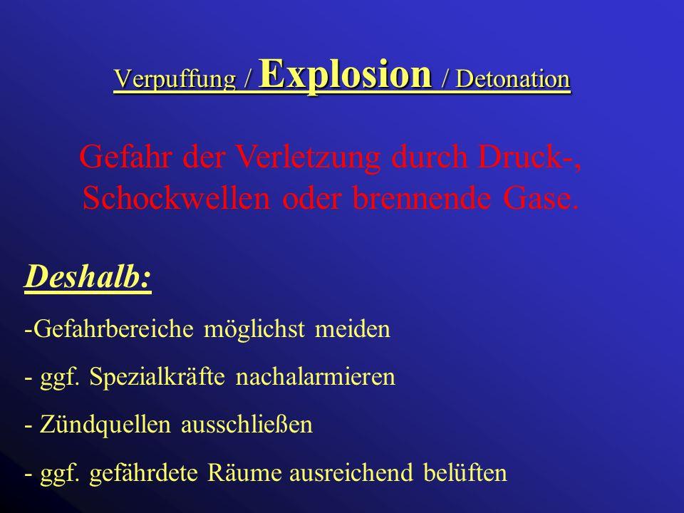 Chemische Gefahren Chemische Gefahren Gefahr durch Einwirkung chemischer Stoffe: - Giftige Stoffe (Pflanzenschutzmittel,...) - Ätzende Stoffe (Batteri