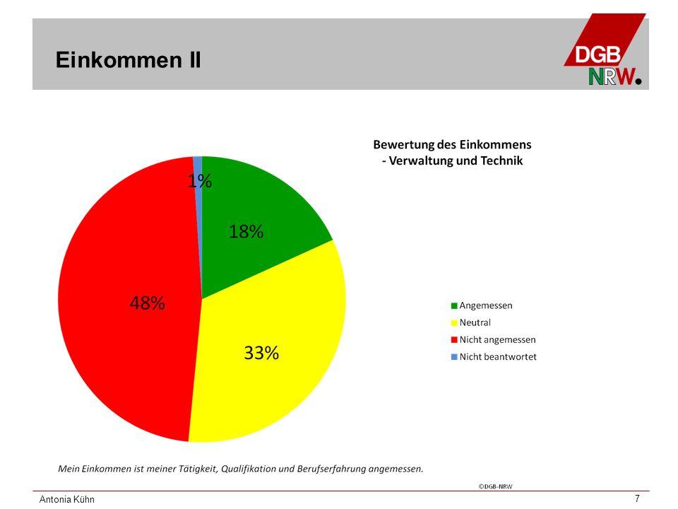 Antonia Kühn 8 Karriere und Perspektiven: Rahmenbedingungen I
