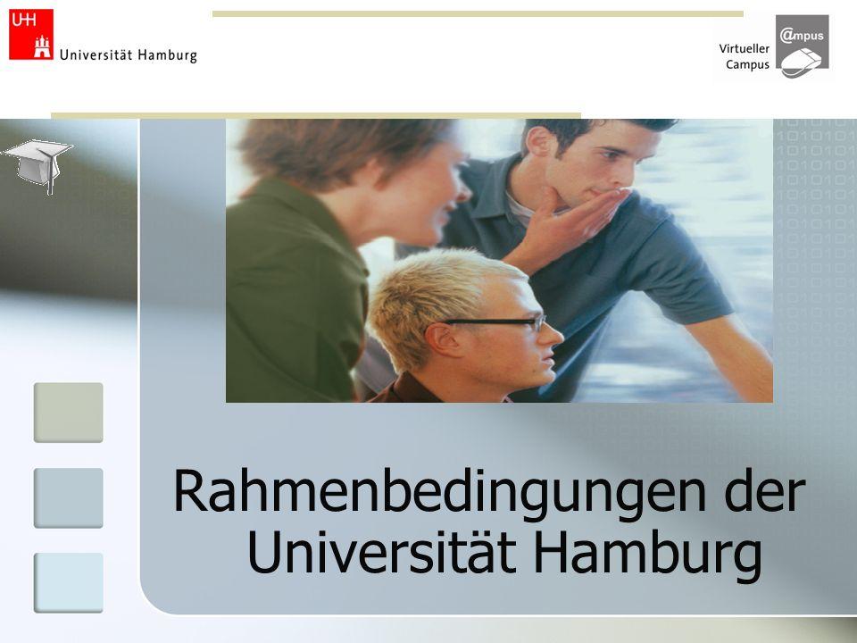 Rahmenbedingungen der Universität Hamburg