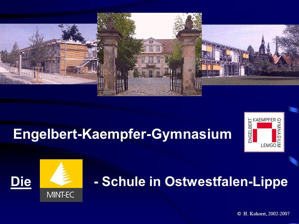 Engelbert-Kaempfer-Gymnasium Die - Schule in Ostwestfalen-Lippe © H. Kohorst, 2002-2007