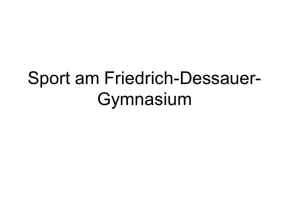 Sport am Friedrich-Dessauer- Gymnasium