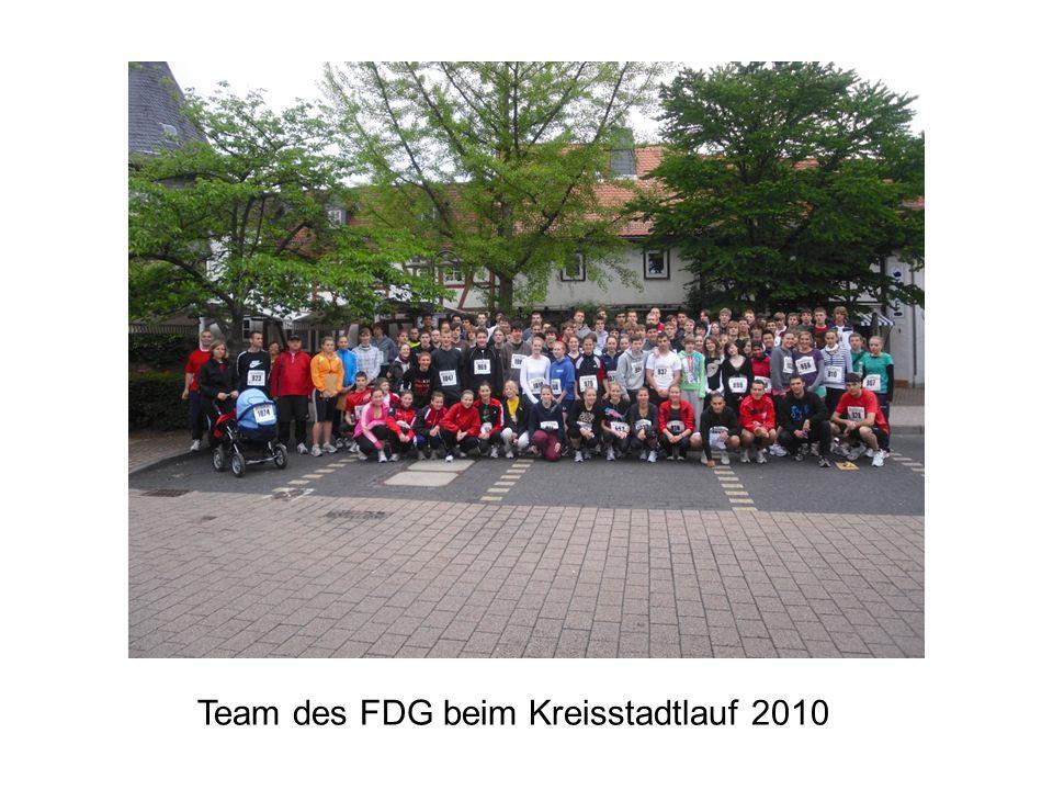 Team des FDG beim Kreisstadtlauf 2010
