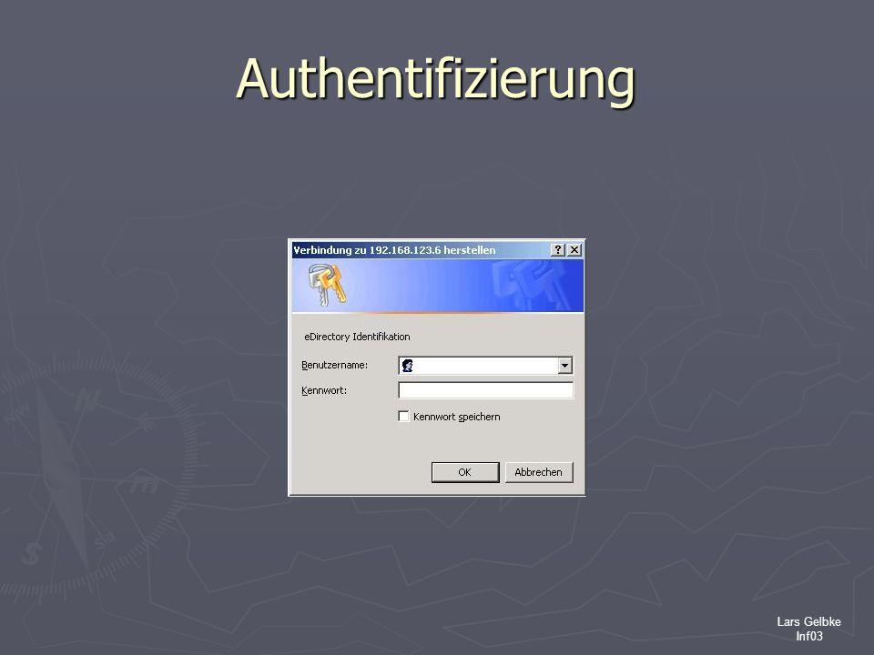 Lars Gelbke Inf03 Authentifizierung