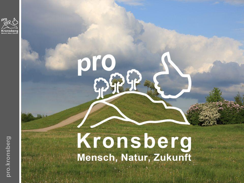pro.kronsberg – Umsetzung Was können wir kurzfristig tun.