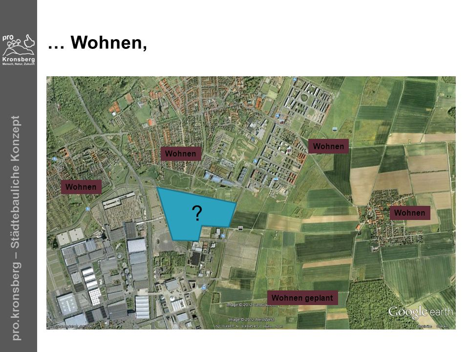 pro.kronsberg – Städtebauliche Konzept … Wohnen, ? Wohnen Wohnen geplant Wohnen