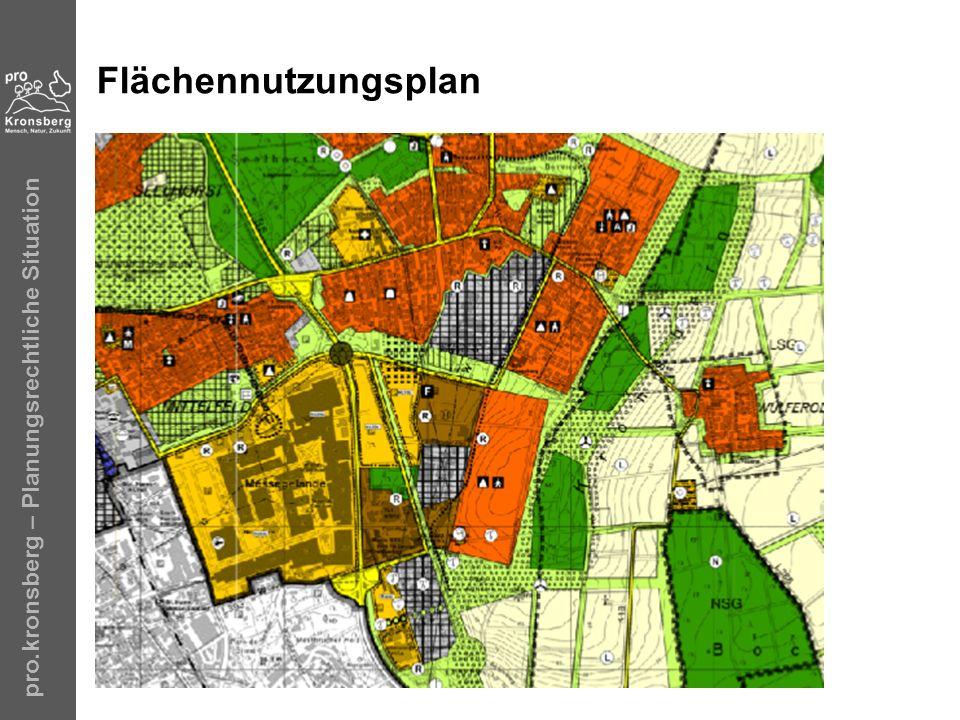 pro.kronsberg – Planungsrechtliche Situation Flächennutzungsplan