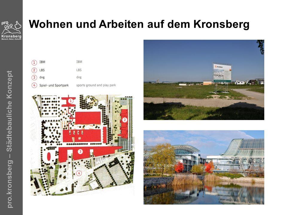 pro.kronsberg – Städtebauliche Konzept Übrigens … 1970 …
