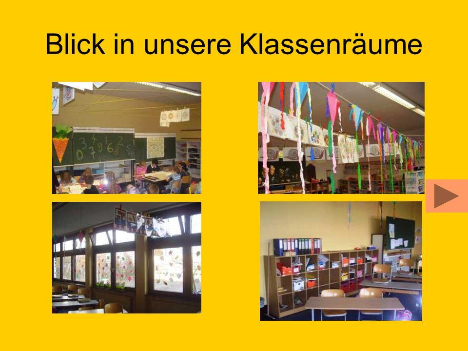 Blick in unsere Klassenräume