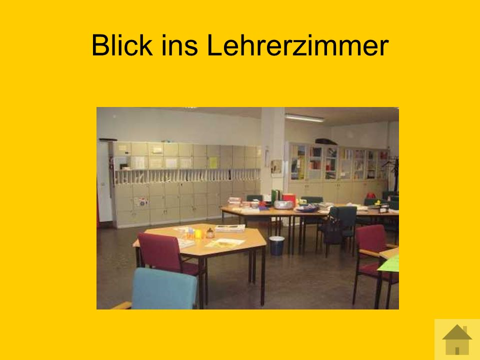 Blick ins Lehrerzimmer