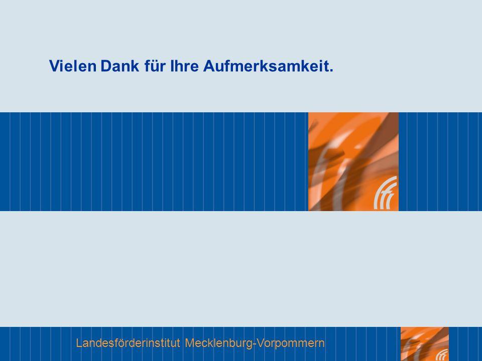 Landesförderinstitut Mecklenburg-Vorpommern Vielen Dank für Ihre Aufmerksamkeit.