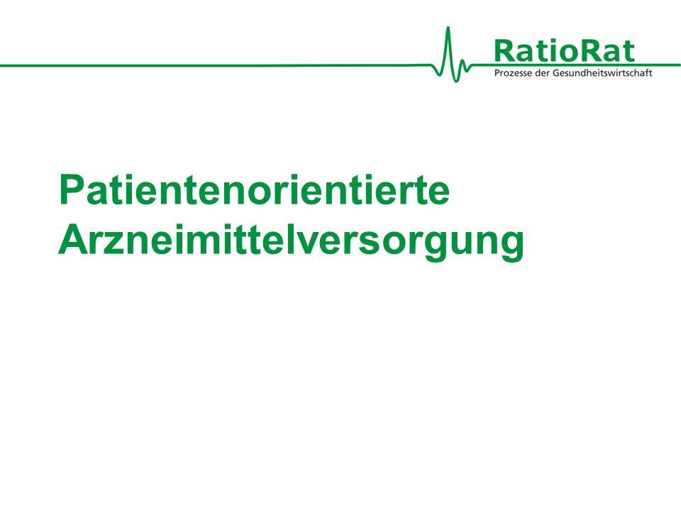 Patientenorientierte Arzneimittelversorgung