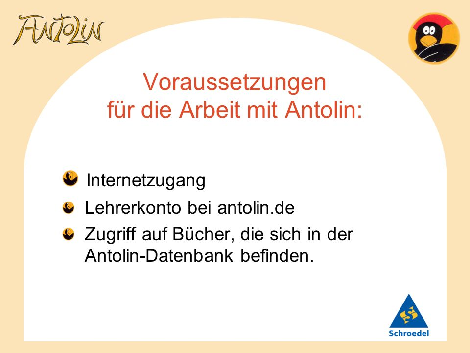 Wie funktioniert Antolin.– Für Schülerinnen und Schüler – (1) 1.