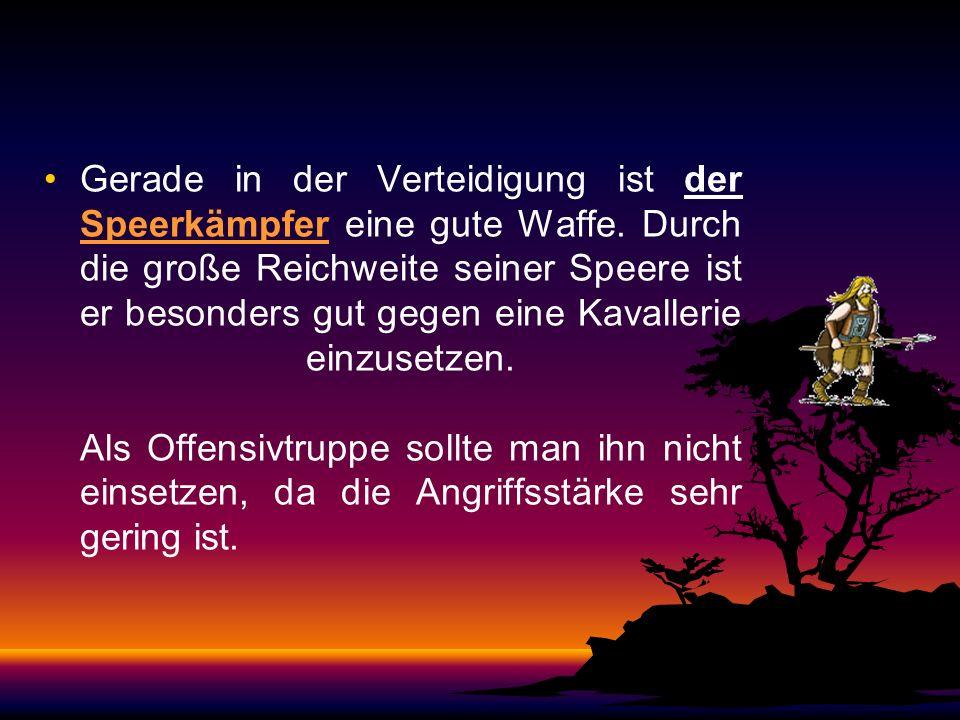 Die germanischen Truppen Der Keulenschwinger: Schnell auszubilden, ist er aber nur von mittlerer Angriffskraft und seine Rüstung ist nicht die stärkst