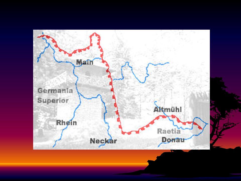 Besonders das heutige Baden-Württemberg hat als einziges Bundesland die verschiedensten Grenzbefestigungen, sowie allerlei Besonderheiten an der Römer