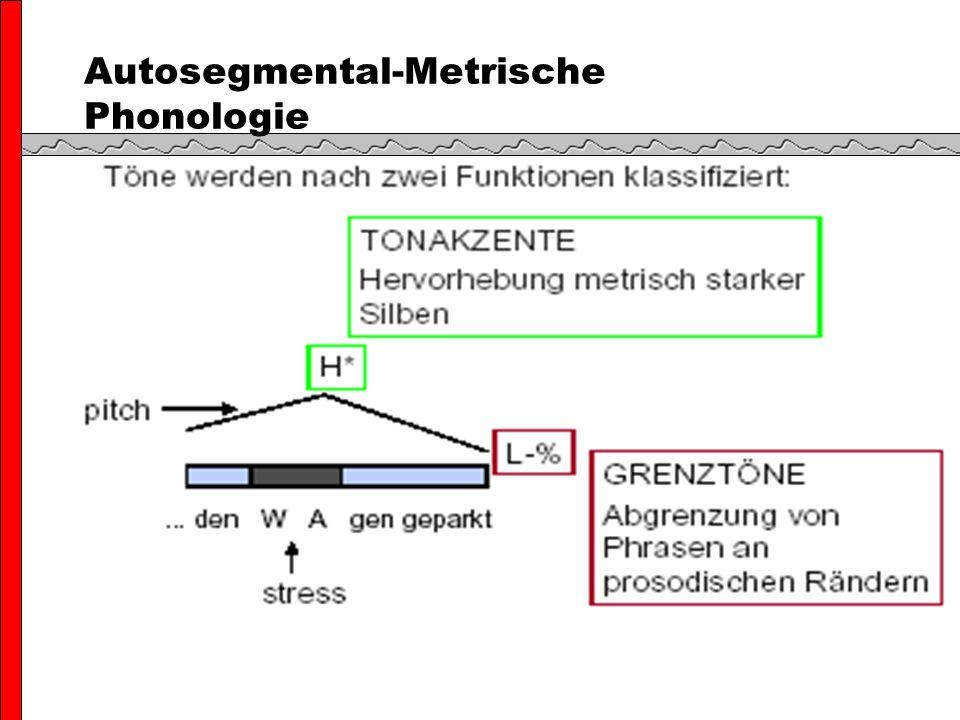 Autosegmental-Metrische Phonologie