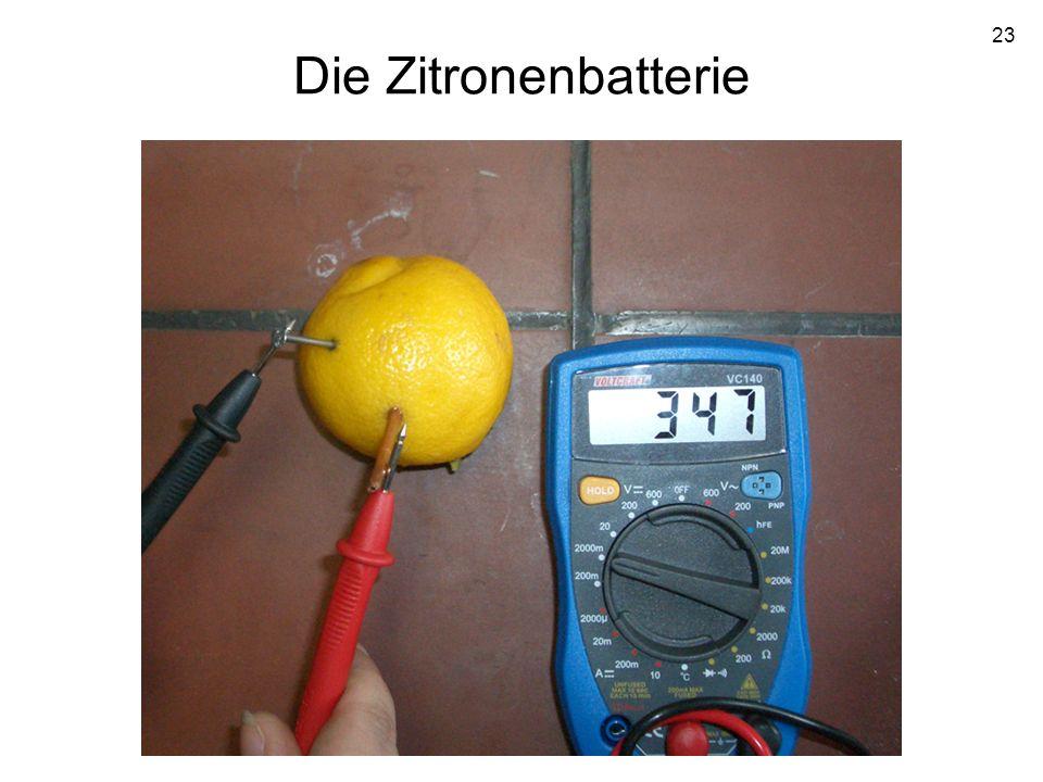 23 Die Zitronenbatterie