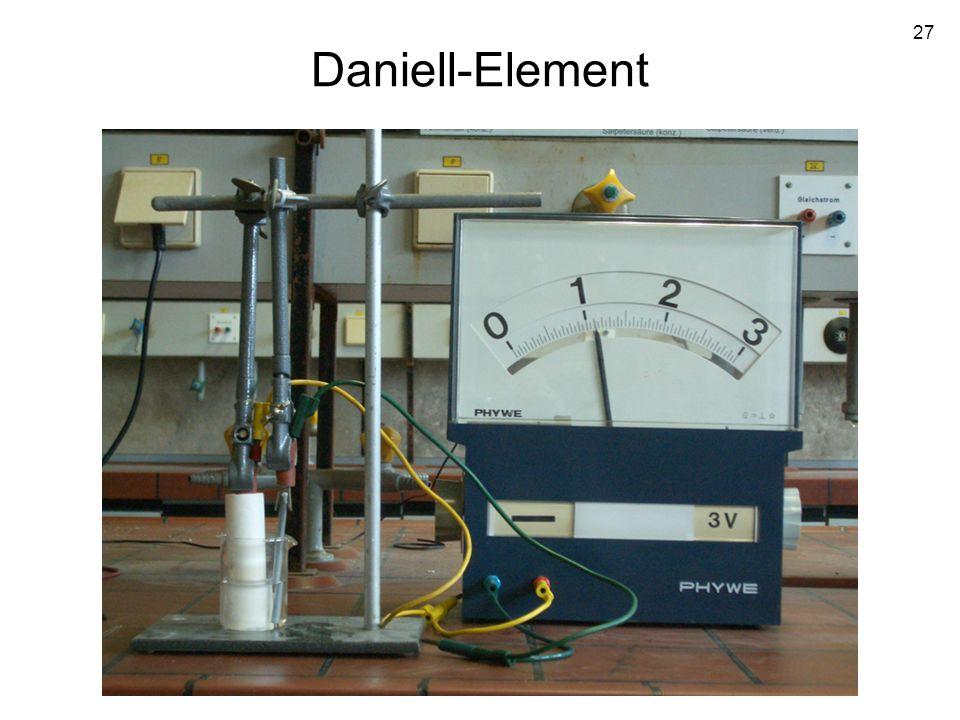 27 Daniell-Element