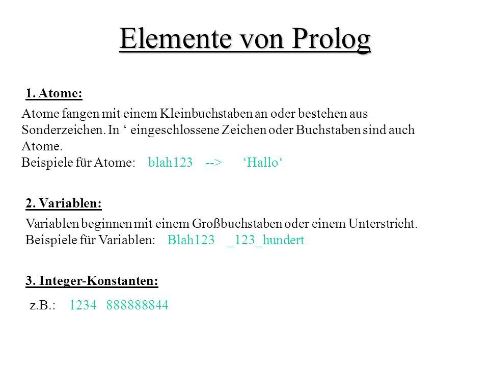 Elemente von Prolog 1.
