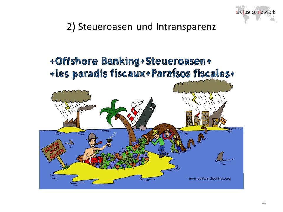 2) Steueroasen und Intransparenz 11