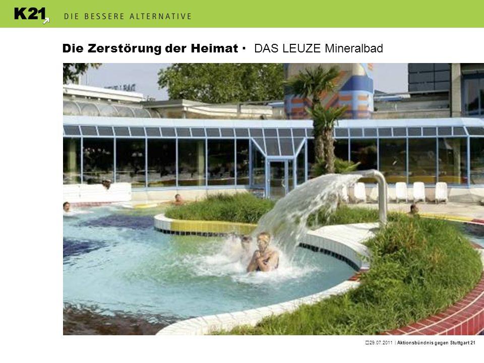 29.07.2011 | Aktionsbündnis gegen Stuttgart 21 Was soll man der Bahn noch glauben?