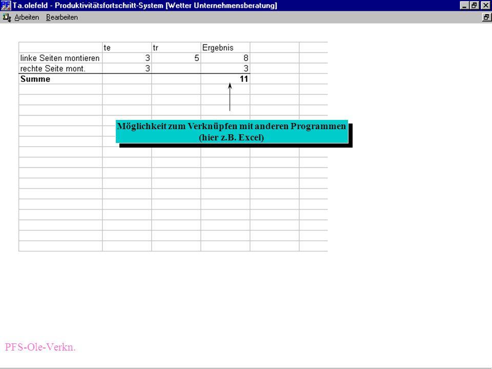 automatische Dokumentation der Veränderung Möglichkeit zum Hinterlegen von Beschreibungen automatische Dokumentation der Veränderung Möglichkeit zum H