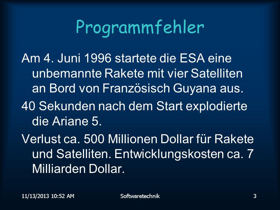 11/13/2013 10:54 AMSoftwaretechnik23 Klassenstruktur