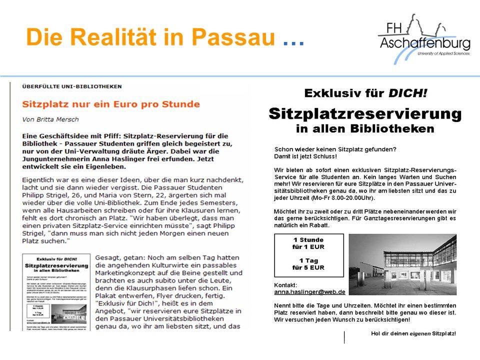 Die Realität in Passau …