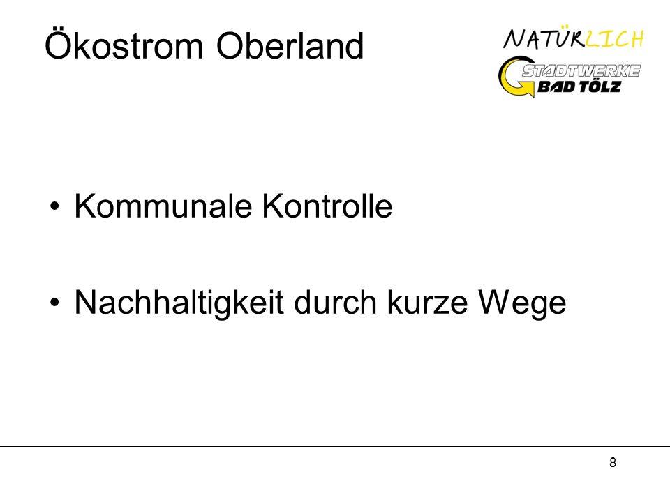 8 Ökostrom Oberland Kommunale Kontrolle Nachhaltigkeit durch kurze Wege