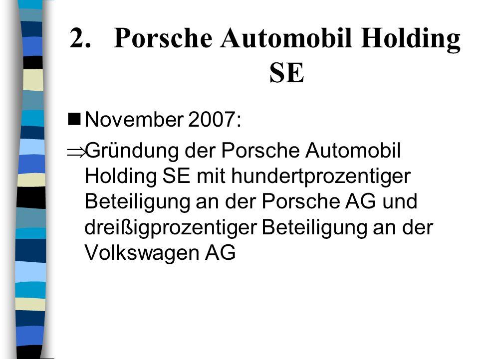 1. Allianz SE Oktober 2006: –Verschmelzung mit der italienischen Versicherungsgesellschaft RAS Umwandlung der Allianz AG in die Allianz SE