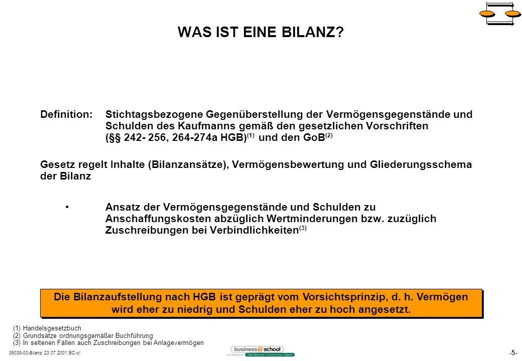 -5- 39038-00-Bilanz 23.07.2001.BC-cl WAS IST EINE BILANZ.