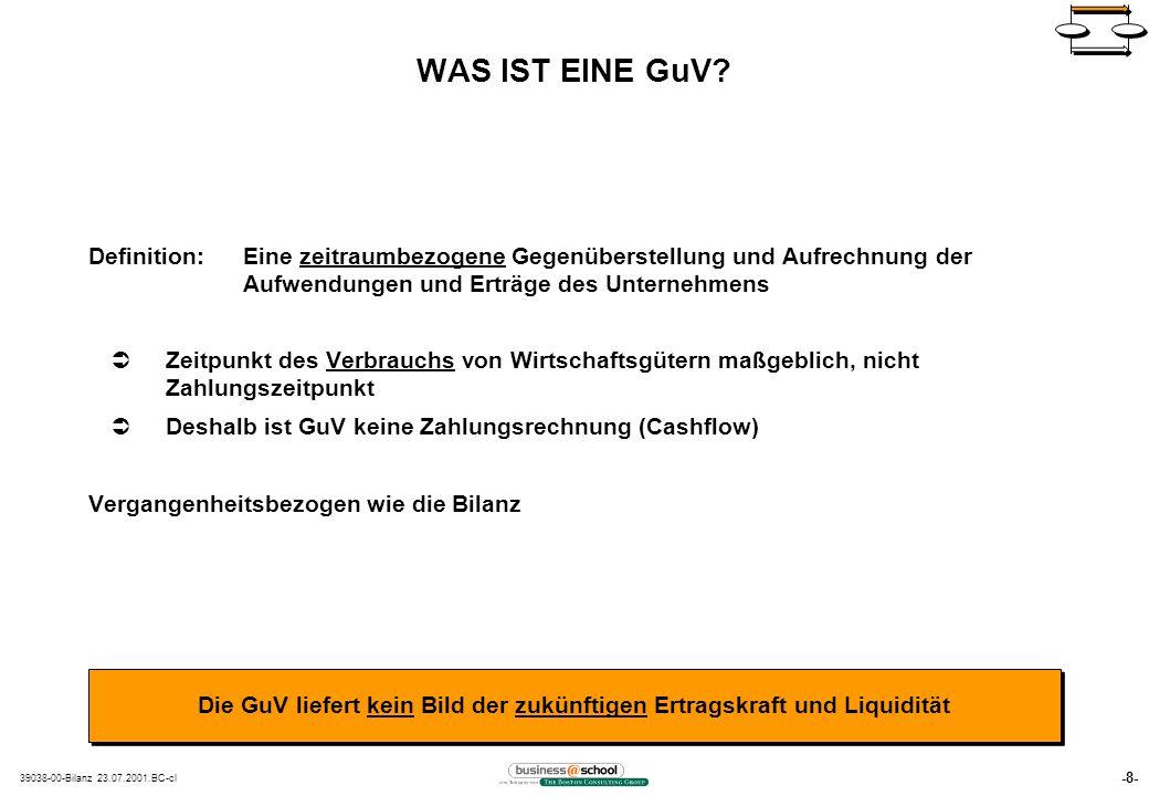 -8- 39038-00-Bilanz 23.07.2001.BC-cl WAS IST EINE GuV.