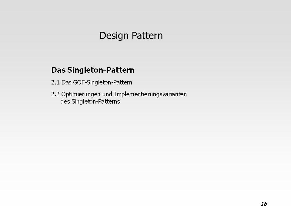 16 Design Pattern