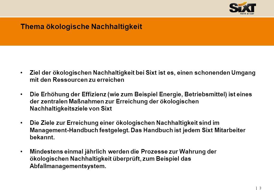 4 Thema: ökologische Nachhaltigkeit A.B.Ökologisch nachhaltige Flotte C.
