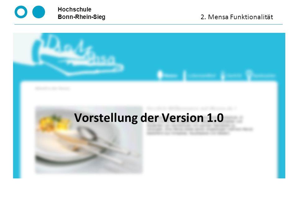 Hochschule Bonn-Rhein-Sieg Klassenhierarchie 2. I. Klassenhierarchie