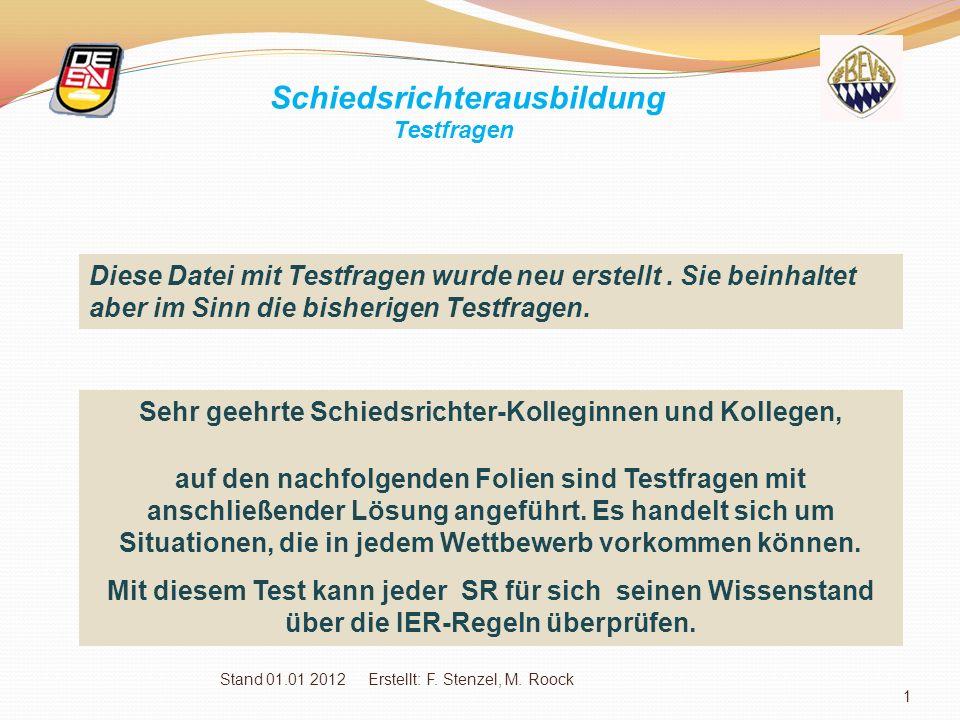 Stand 01.01 2012 Erstellt: F.Stenzel, M.