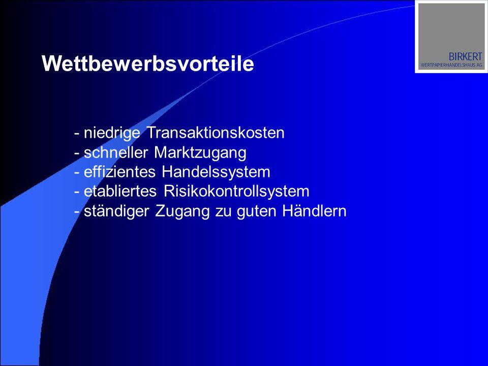 Gesamtumsatz: Dt. Börsen Quelle: Deutsche Börse AG in Billionen EUR 2000 2001 2002 2003 (Nov)
